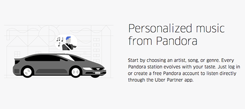 Uberin ja Pandoran yhteistyö on esimerkki IoT:n hyödyntämisestä markkinoinnissa